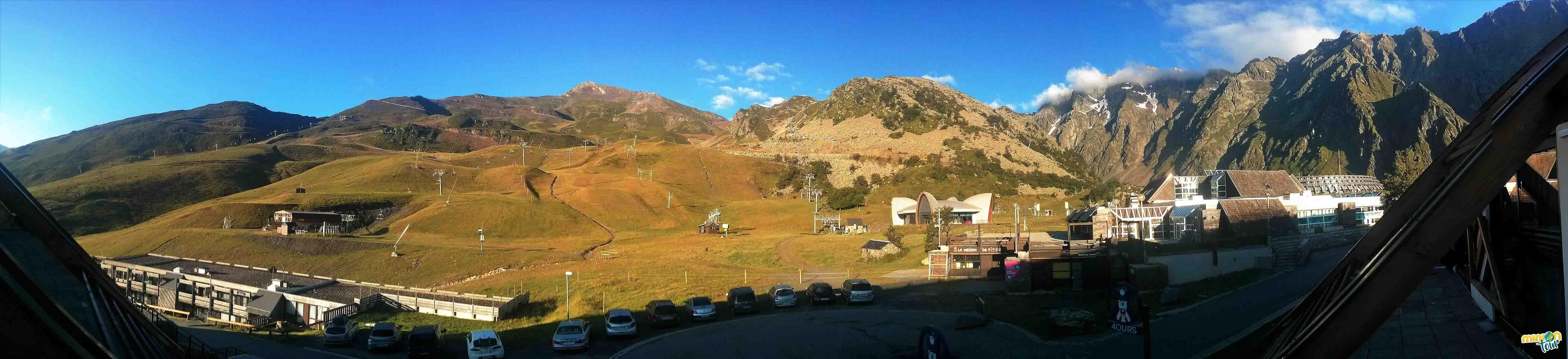 Panorámica de la estación de esquí de Piau Engaly