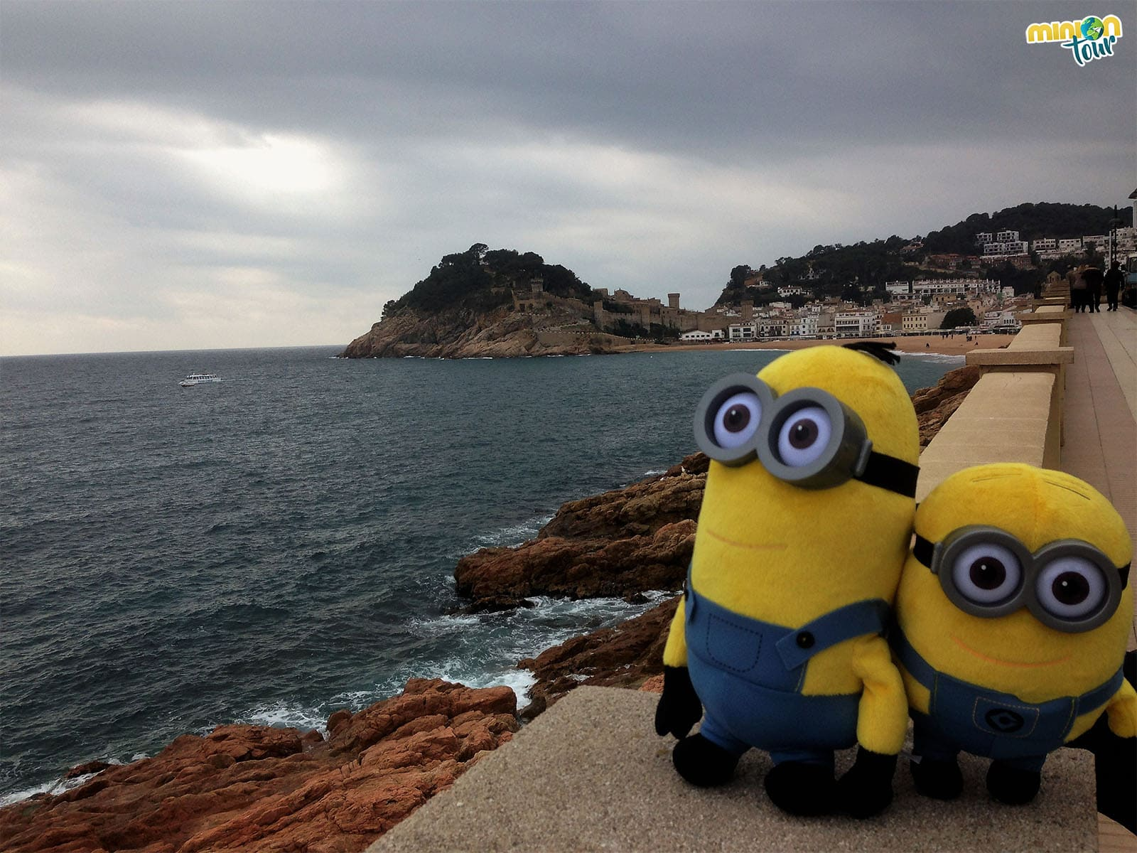 Tossa de Mar, su playa y su castillo