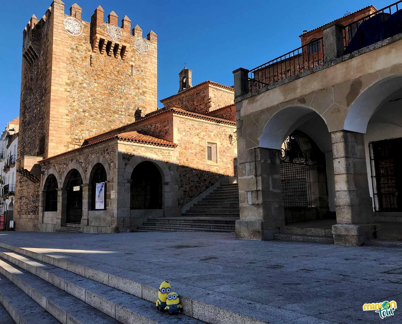 La Plaza Mayor de Cáceres