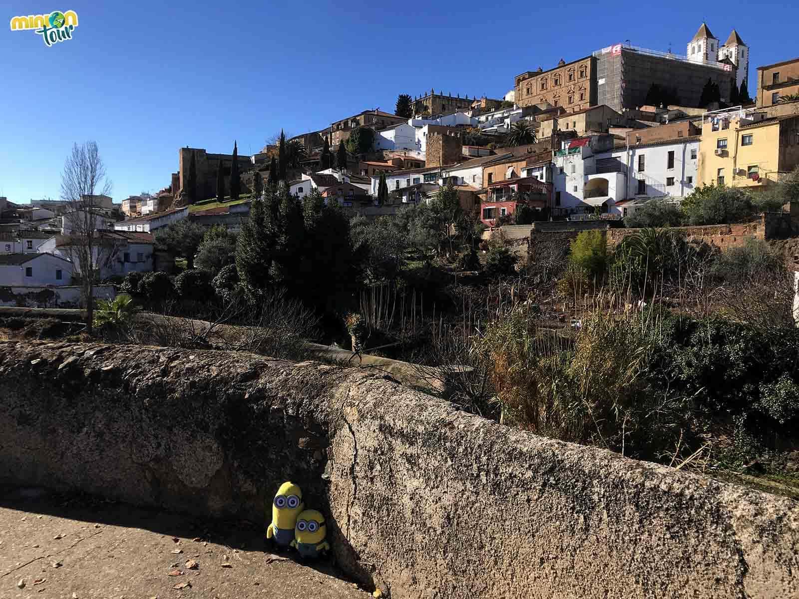Panorámica del Casco Histórico de Cáceres