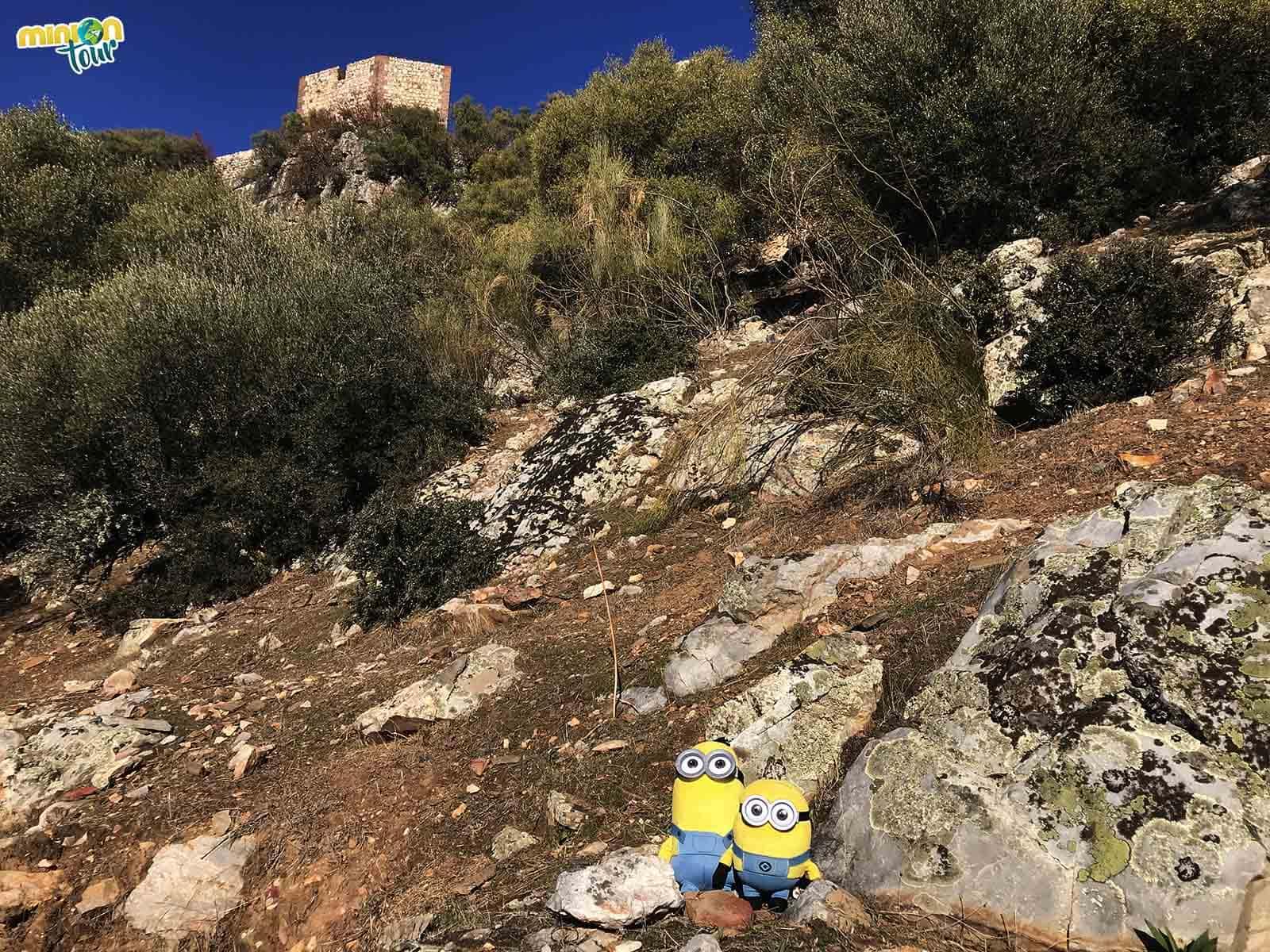 Vista de la Torre del Homenaje del Castillo de Monfragüe