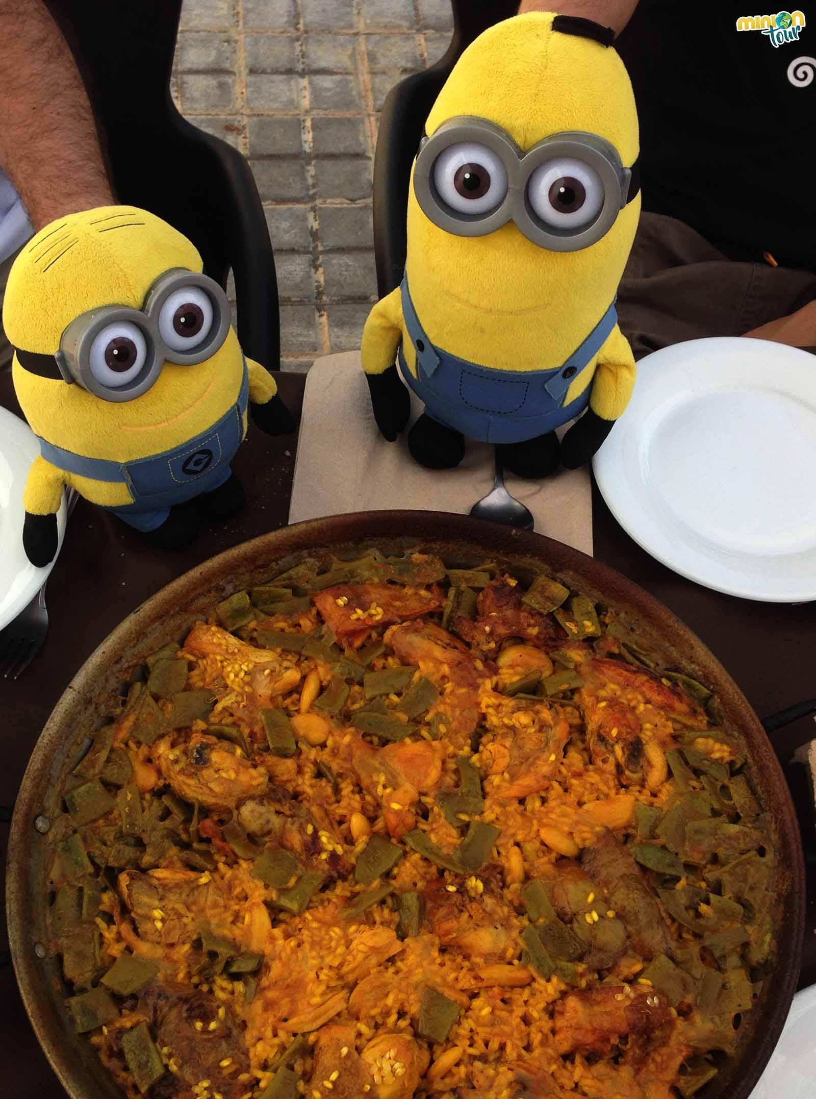Paella en el Restaurante Torres Torres