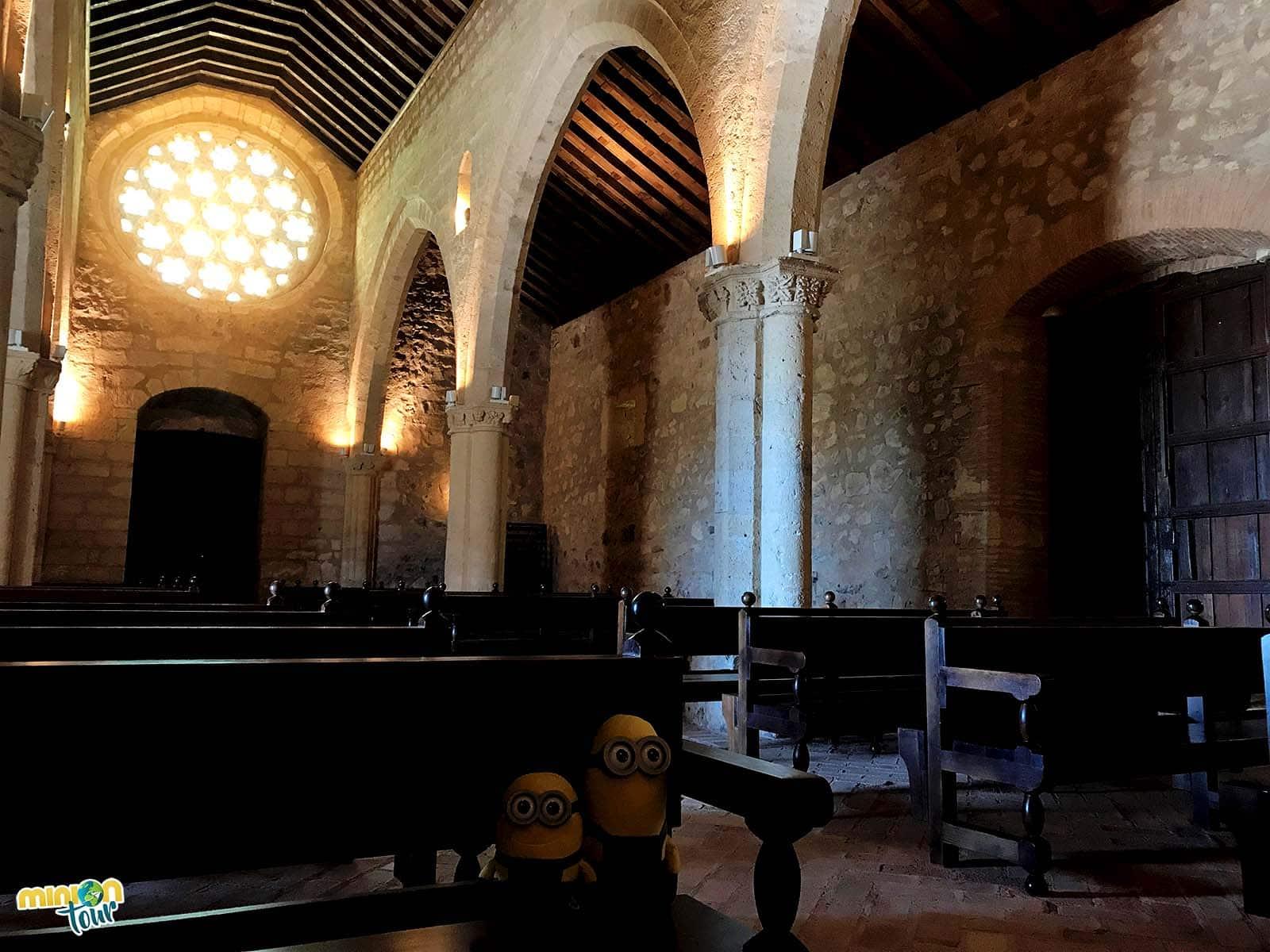 El interior de la Ermita de Alarcos es muy chulo