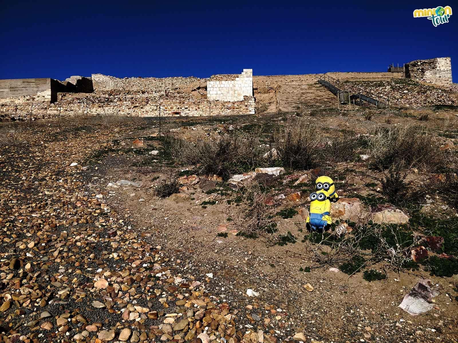 Los Minions en el Parque Arqueológico de Alarcos