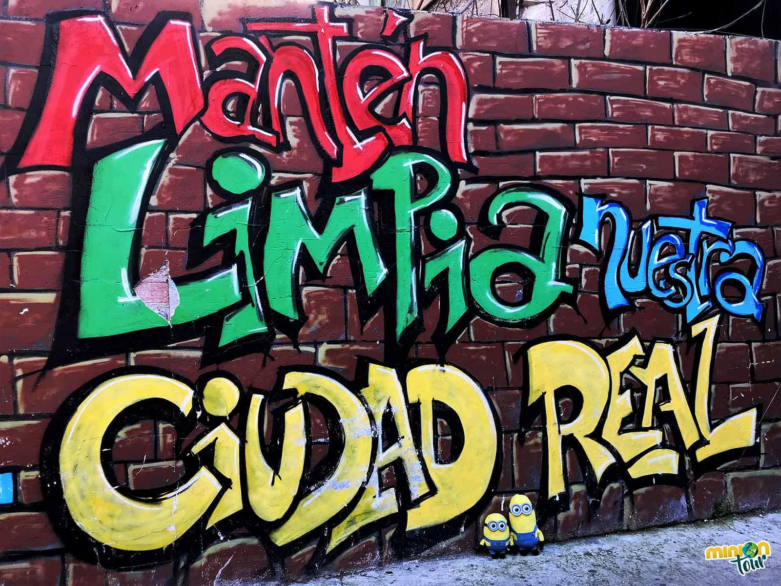 Un mural de arte urbano que nos gustó mucho