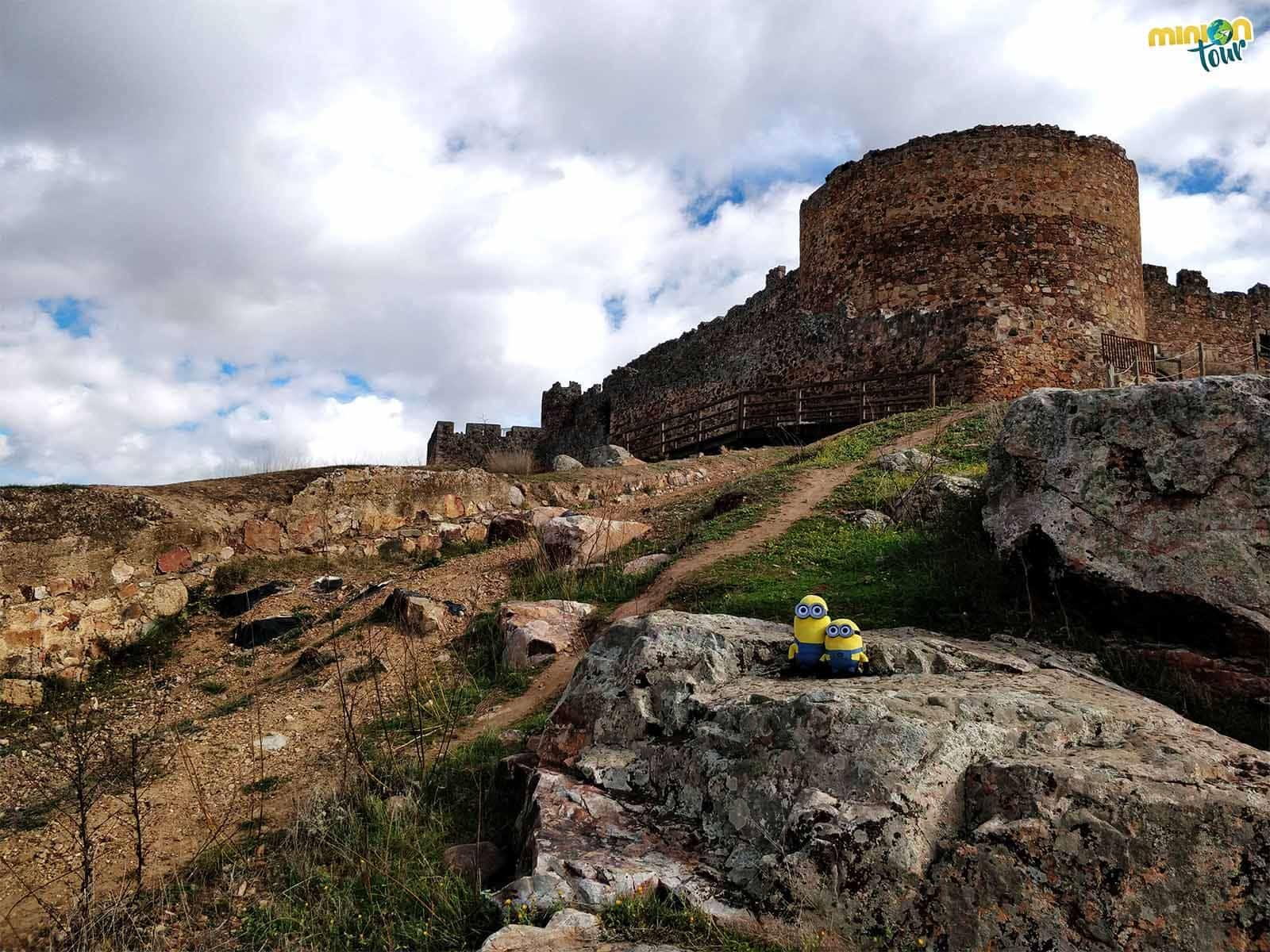 Llegamos al castillo, una de las cosas que ver en Medellín, el de España