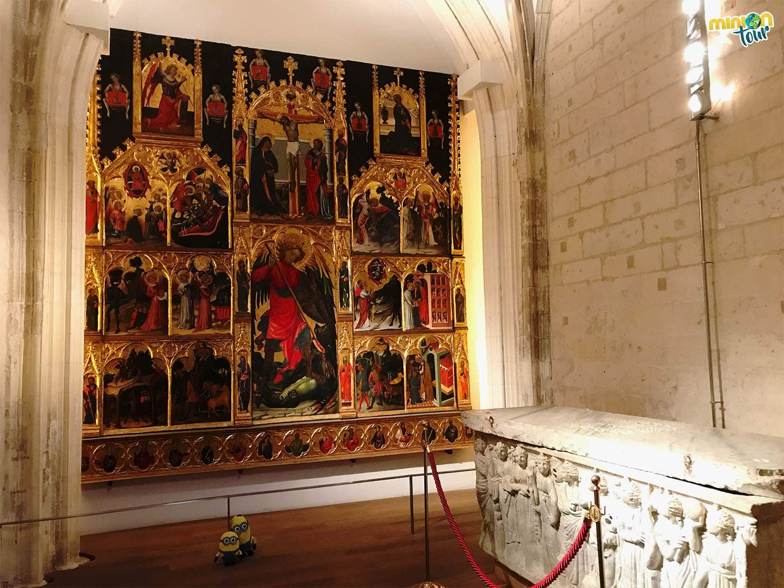 Alguna de las salas del Museo Catedralicio de la Catedral de Murcia