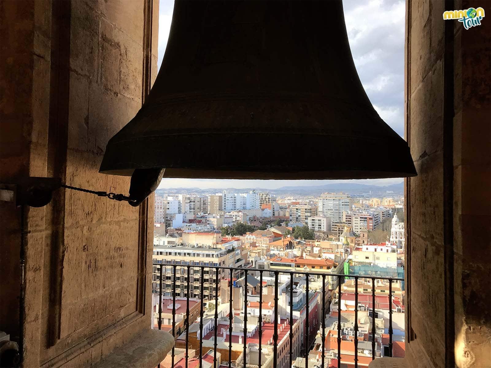 Vistas de Murcia desde la torre de la catedral