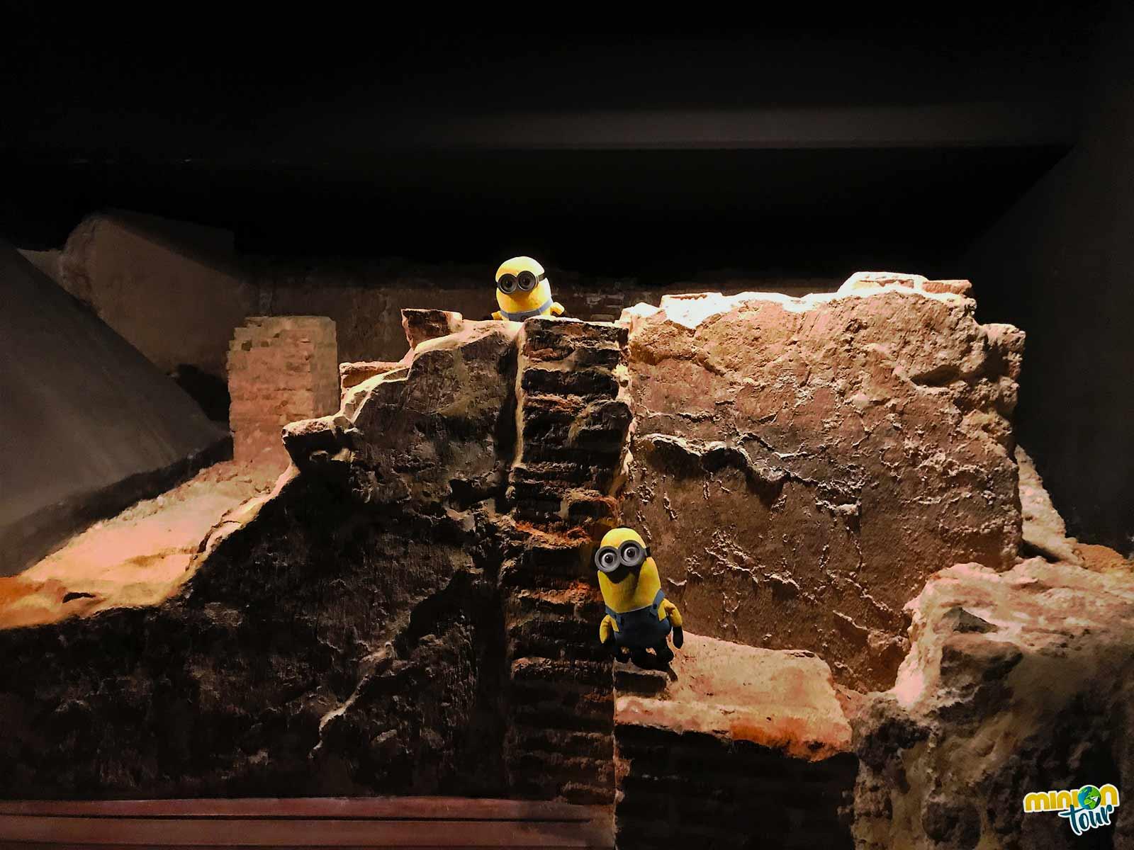 Restos arqueológicos del Alcázar Mayor de Murcia