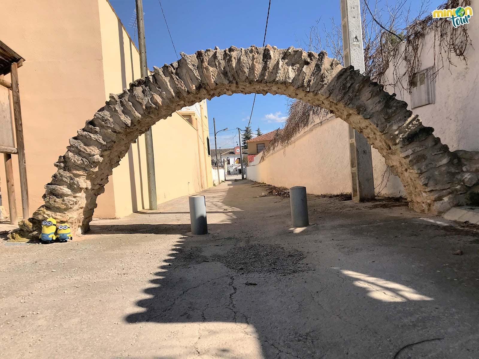 Arco árabe, una de las cosas que ver en Fuensanta