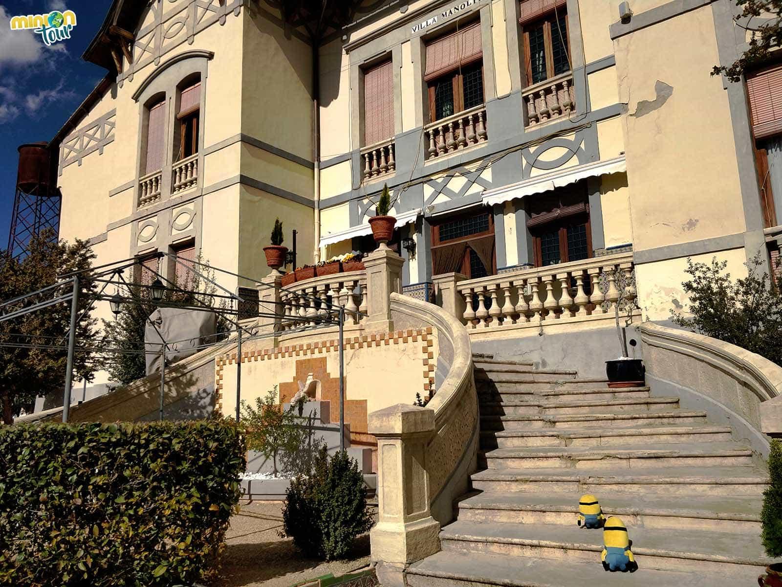 Cuando visitamos Fuensanta nos quedamos a dormir en el Hotel Villa Manolita