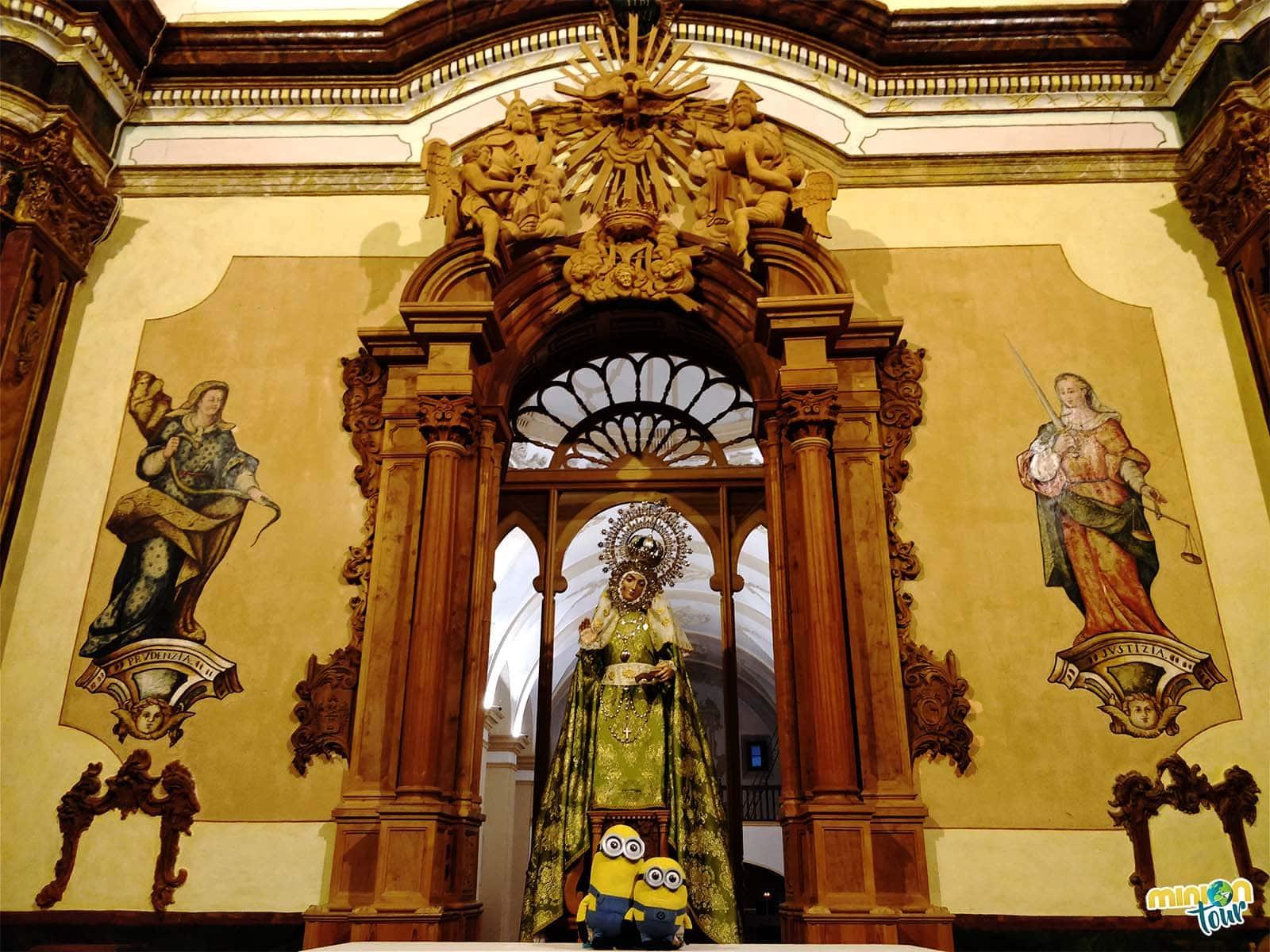 La Virgen de los Remedios de Fuensanta