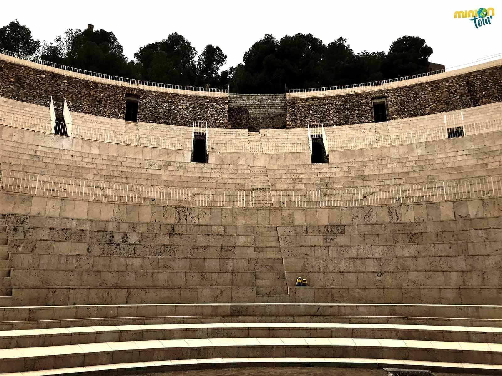 Las gradas del teatro romano de Sagunto