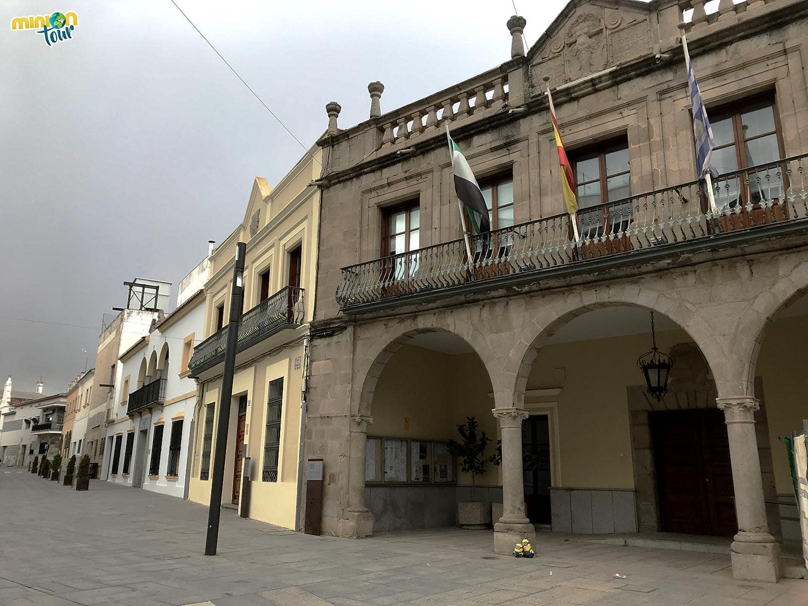 La Casa Consistorial es uno de los edificios que ver en Villanueva de la Serena