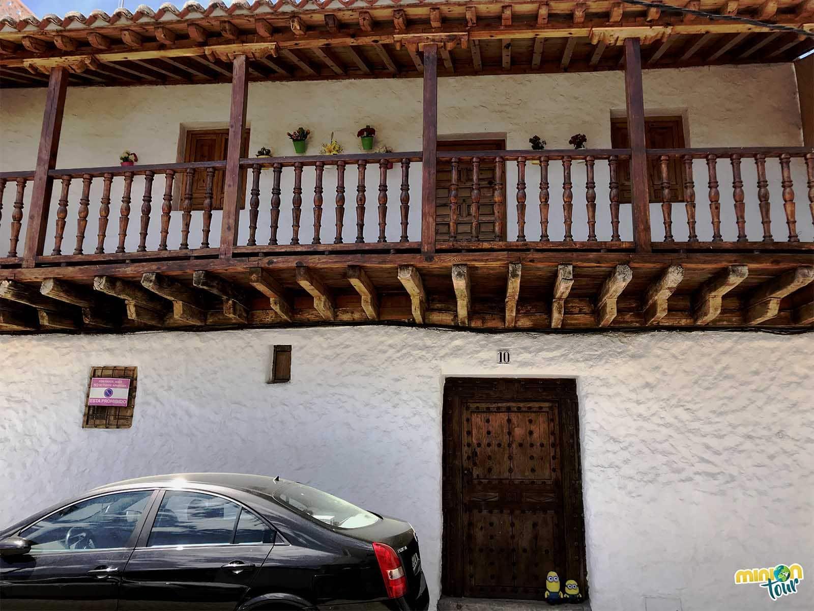 Casa típica de Escalona