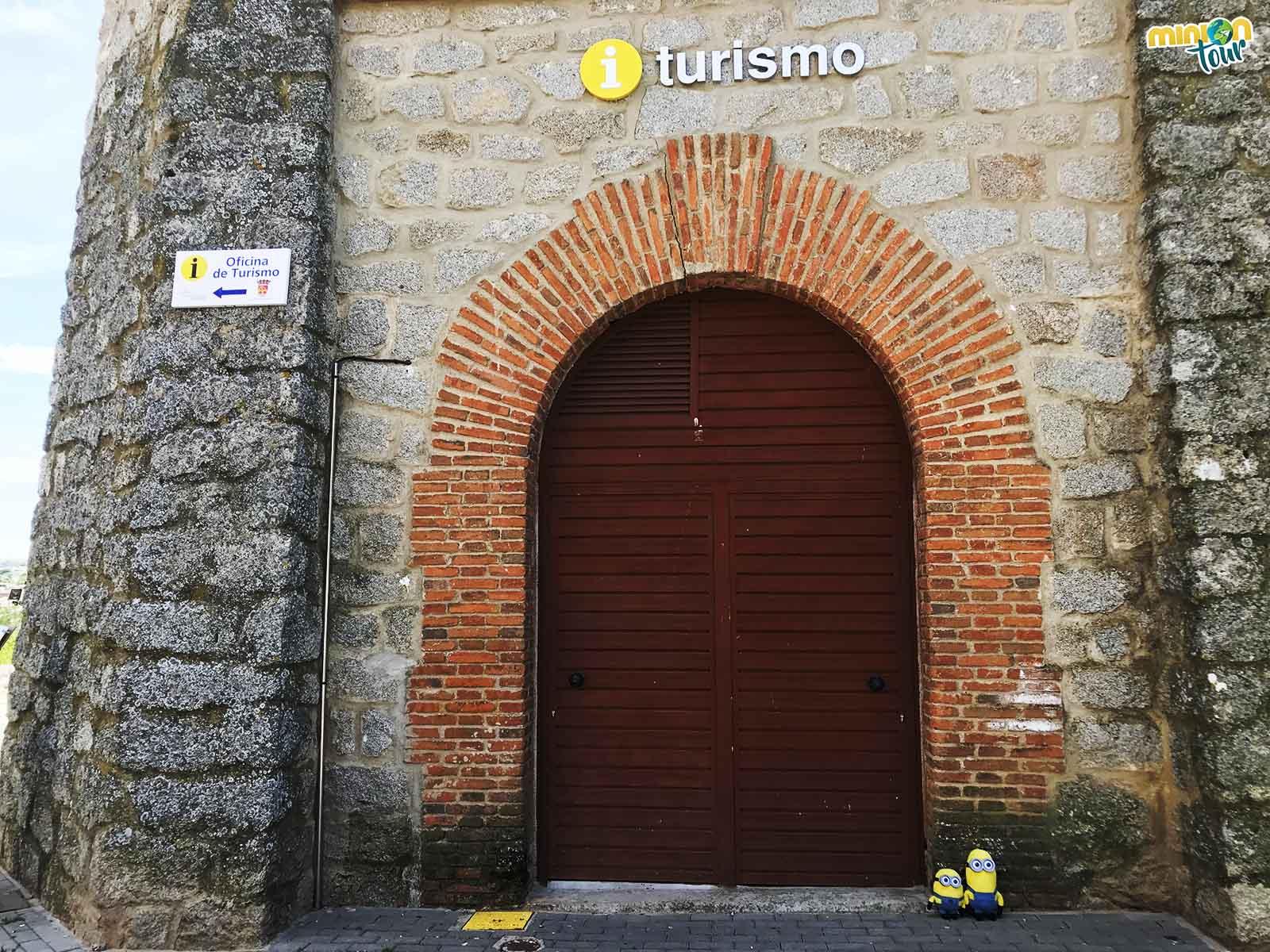 Oficina de Turismo de Escalona en la Torre del Agua