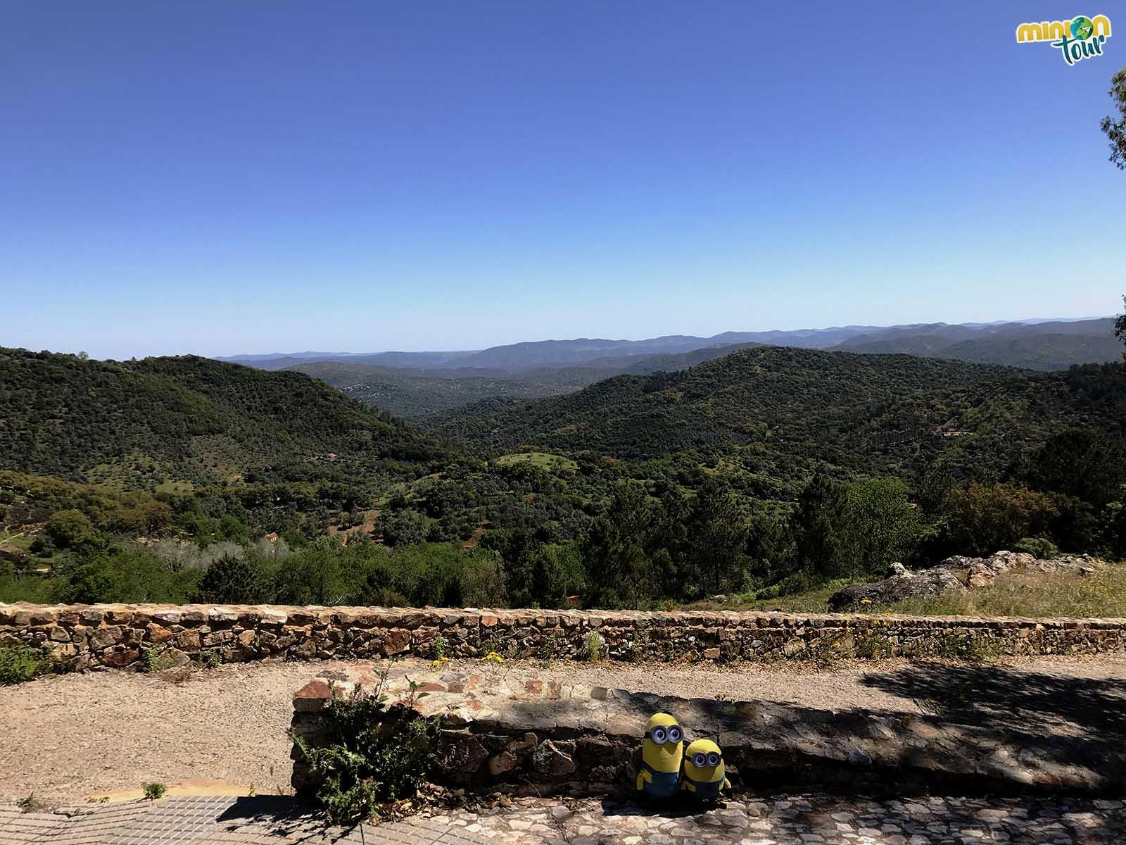 Cortegana está en plena Sierra de Aracena