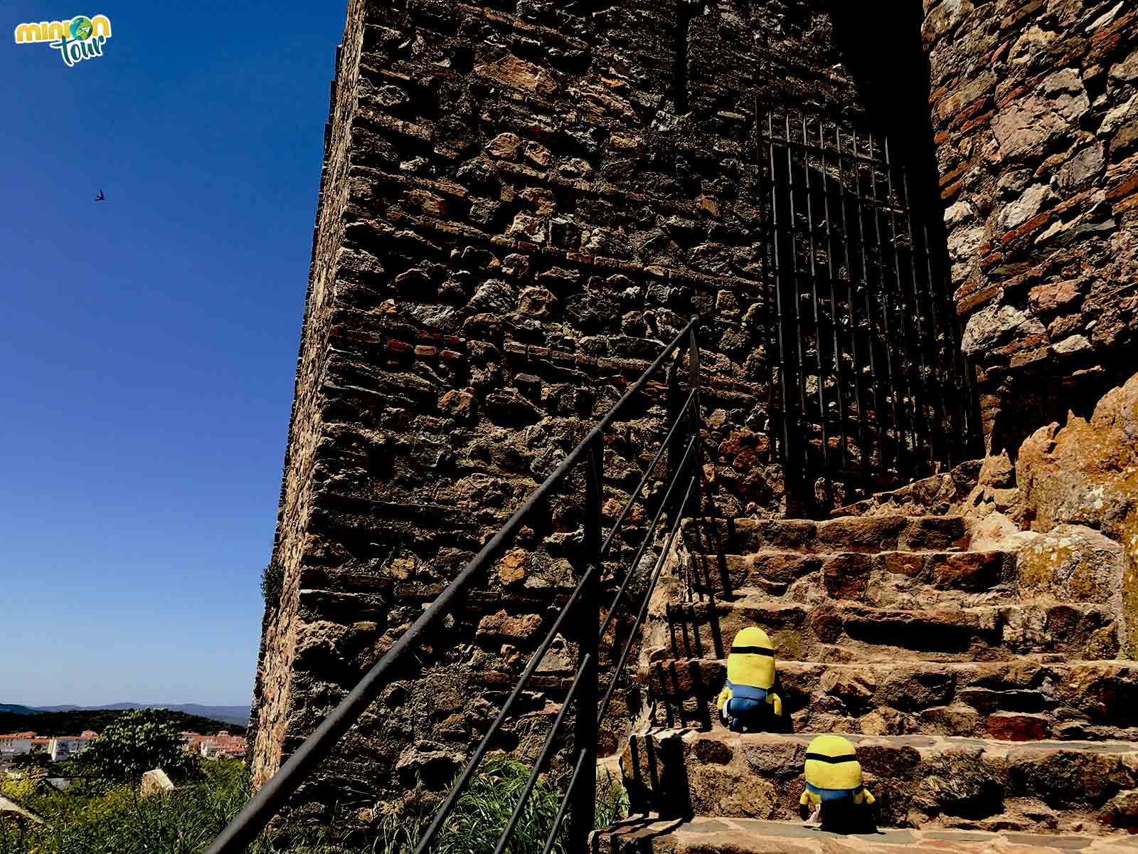 Entrada al Castillo de Cortegana