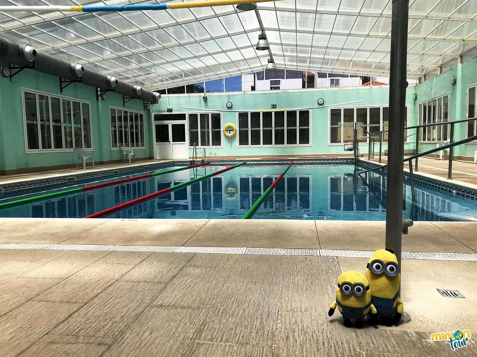 La piscina del Hotel Sierra Luz