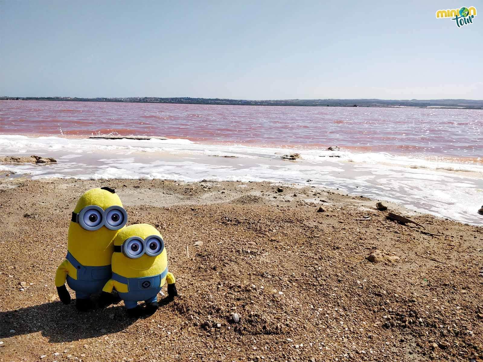 ¿Una laguna rosa en España?