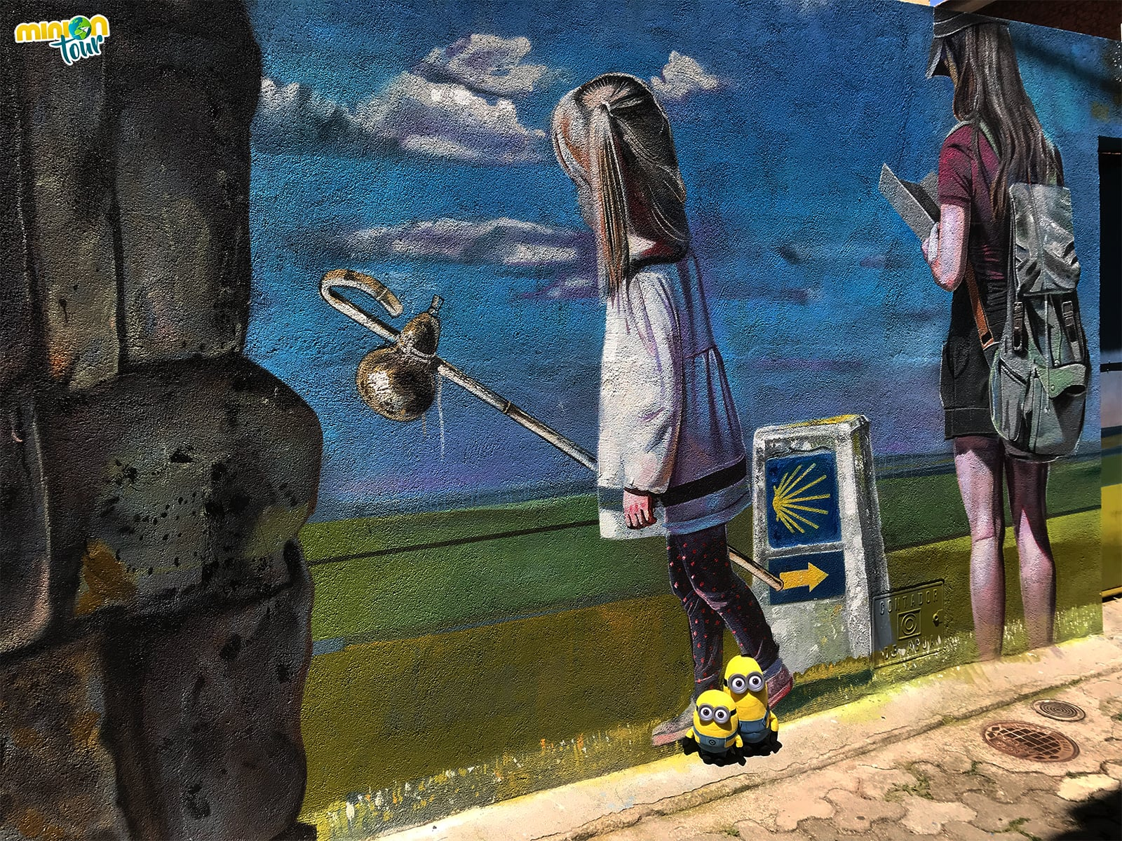 El Camino de Santiago en la Ruta de los Murales de Escalona