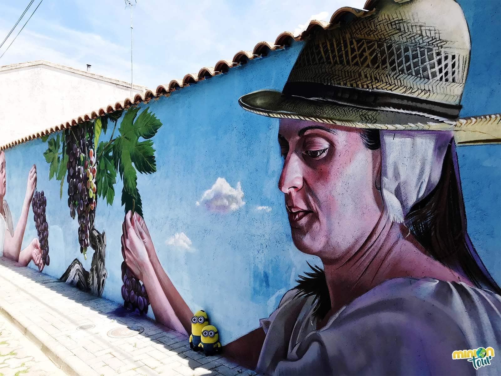 Mural de la vendimia
