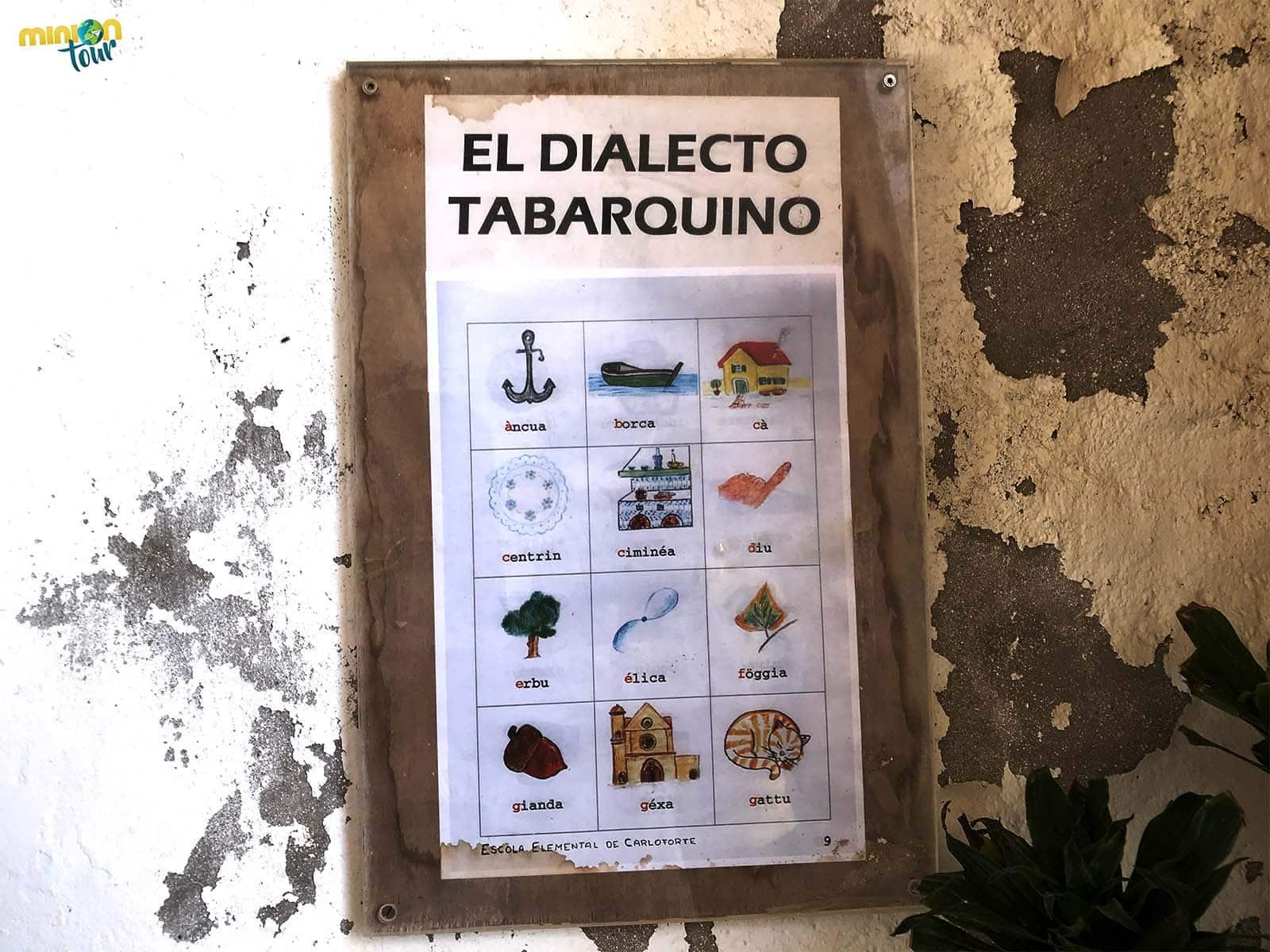 Aprender el dialecto tabarquino es una de las cosas que tiene que hacer en Tabarca