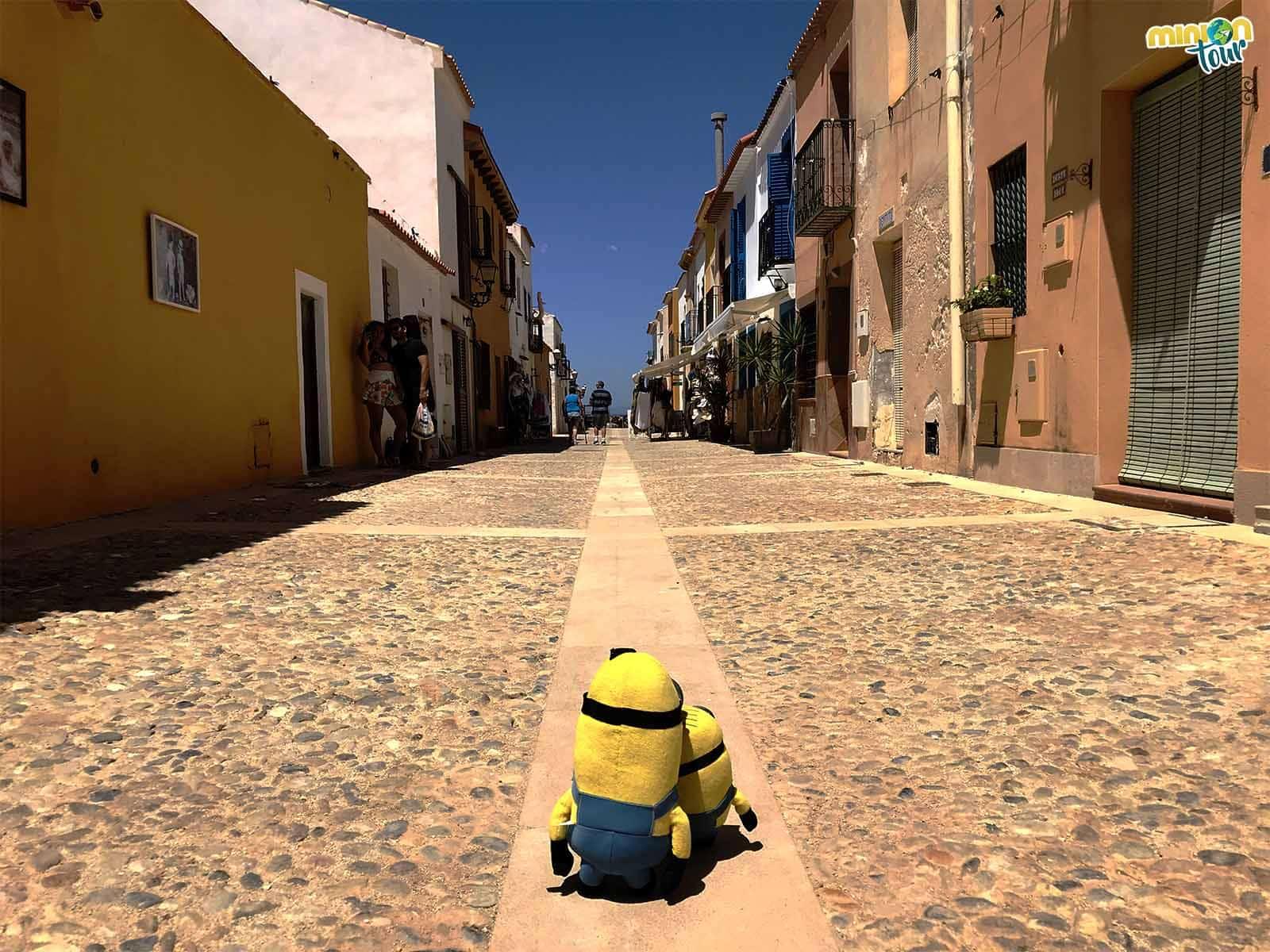 Calle principal de la isla