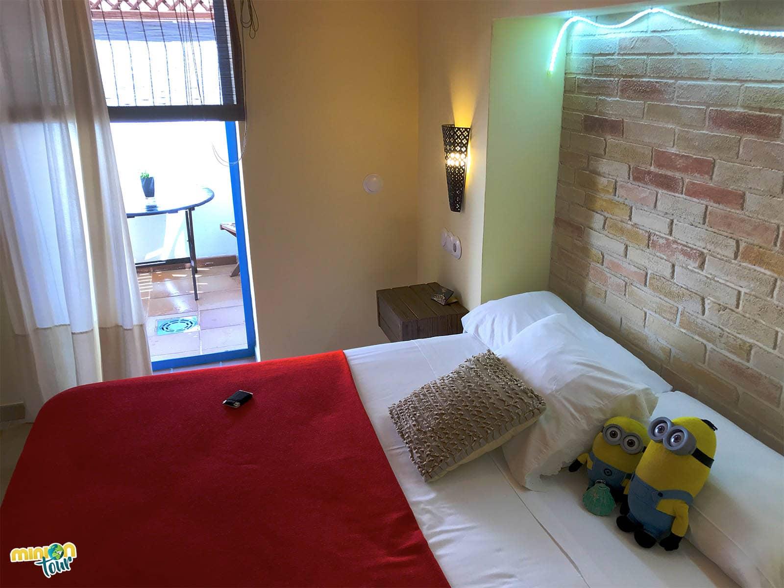 Nuestra cama para descansar en Tabarca