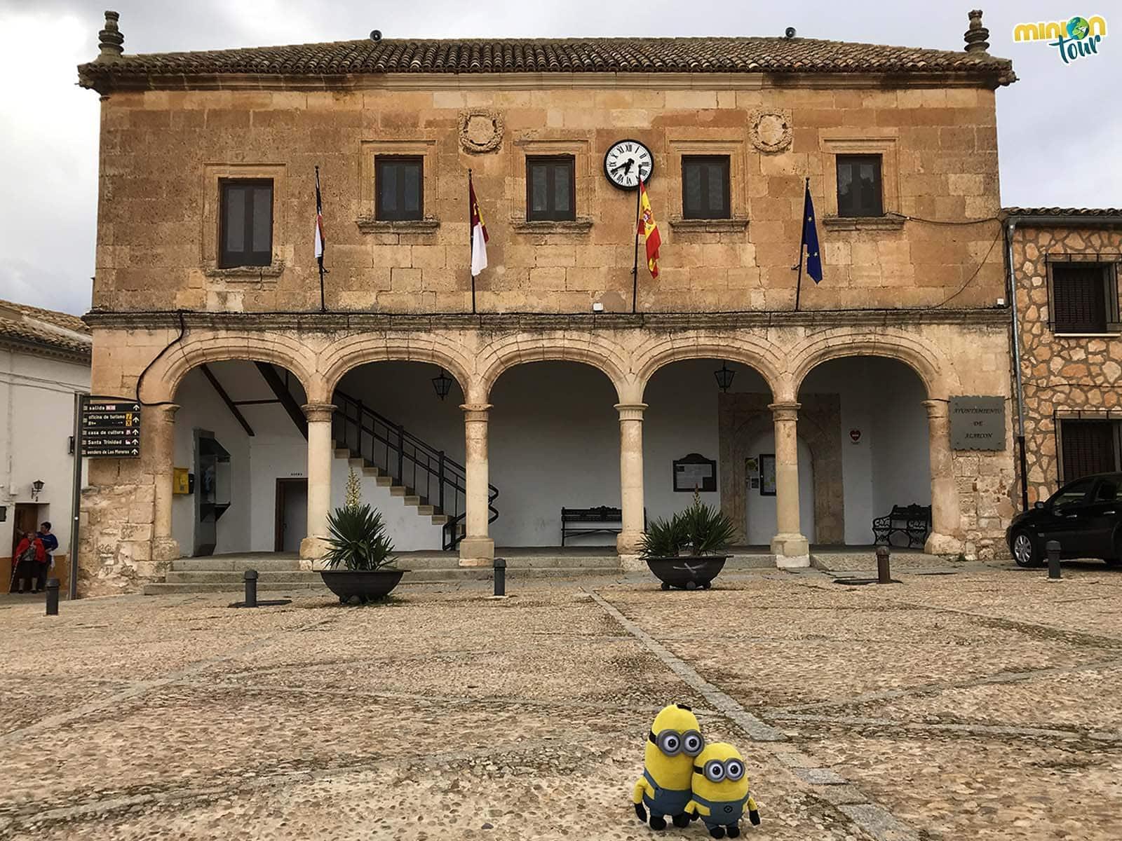 El Palacio del Concejo de Alarcón