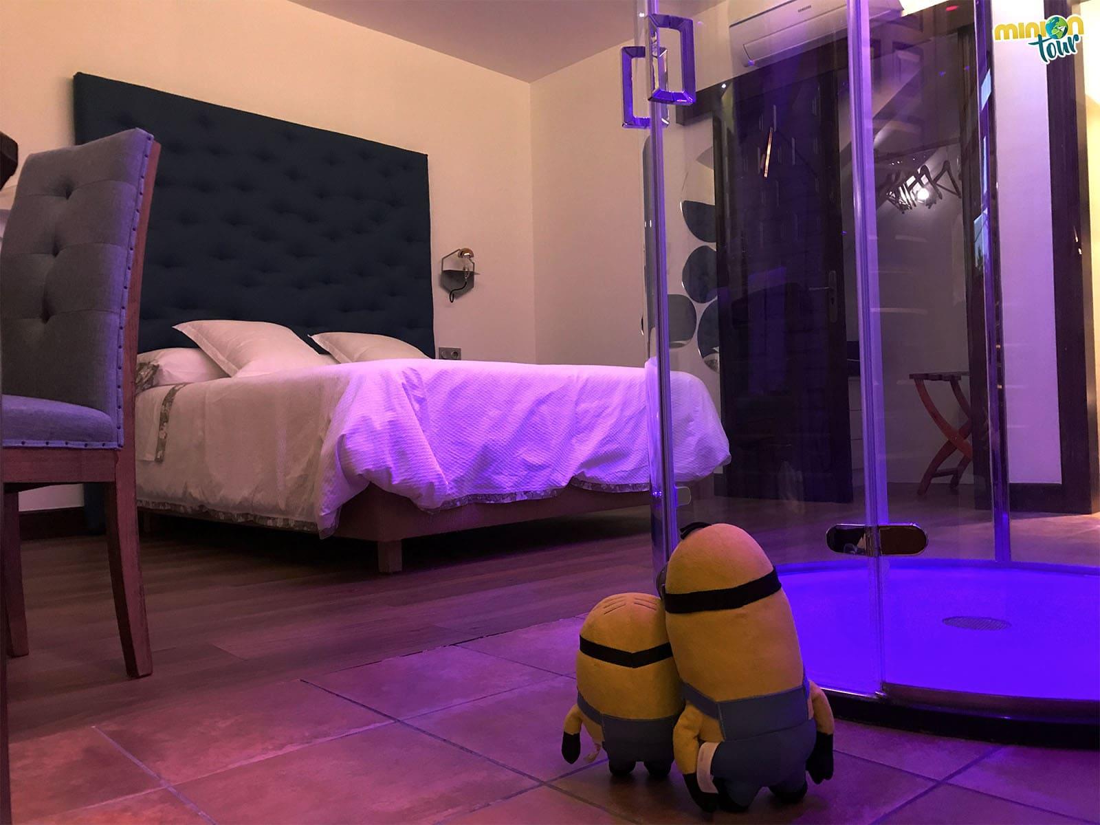 Una habitación del Hotel Hierbaluisa