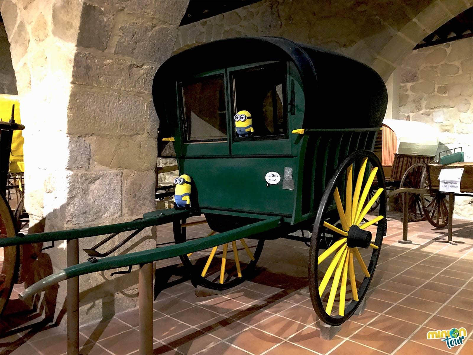 Otro de los carros del museo