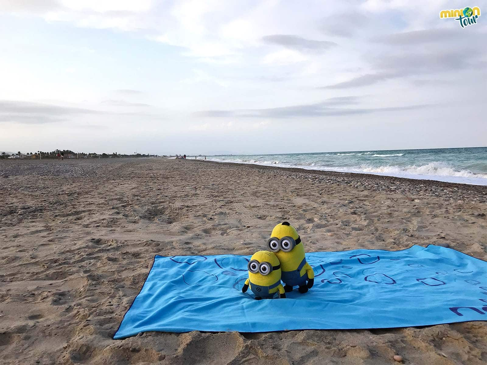 Nos encantan las playas en las que no tenemos que pelearnos por un hueco