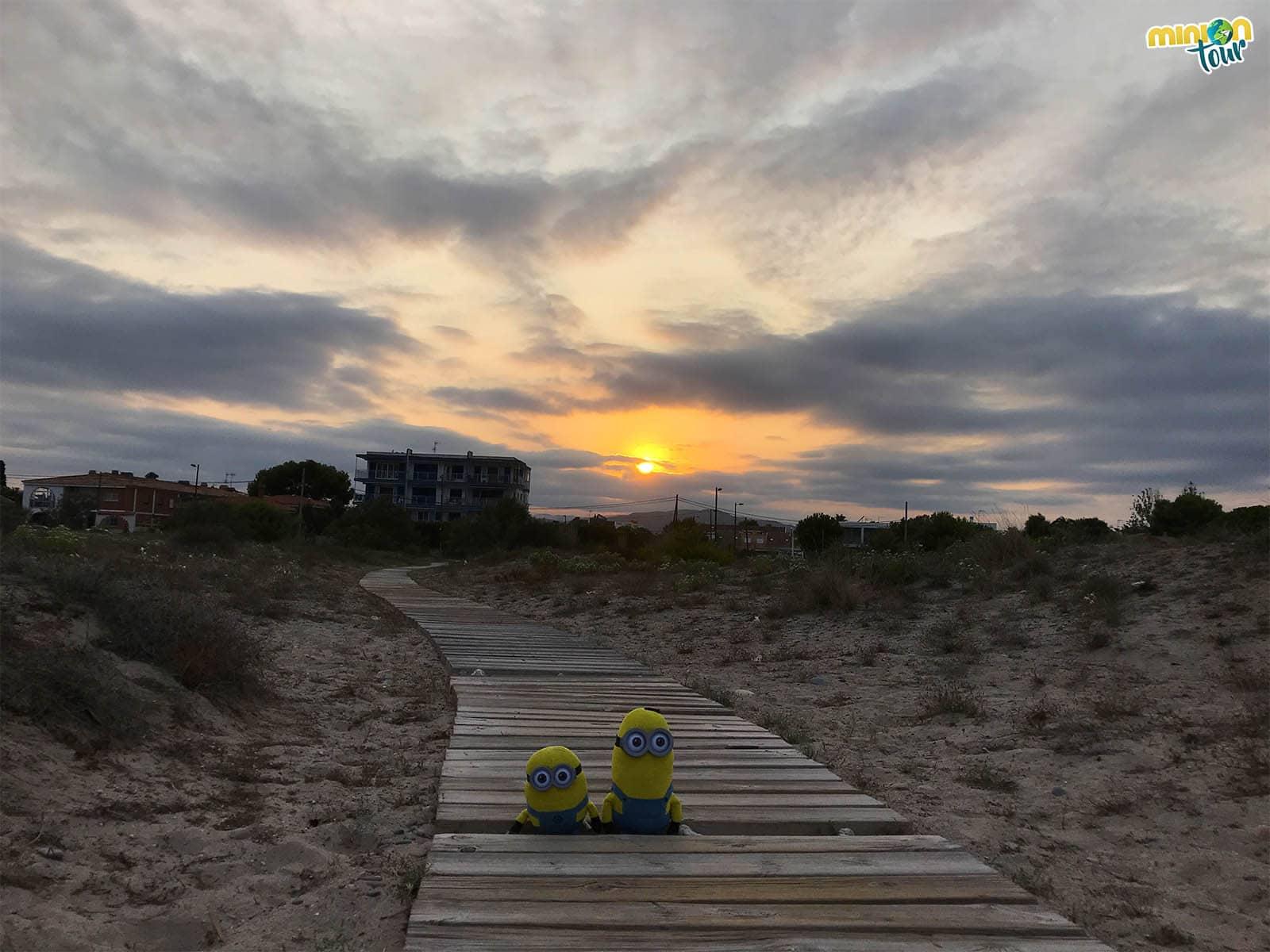 Atardecer desde la playa