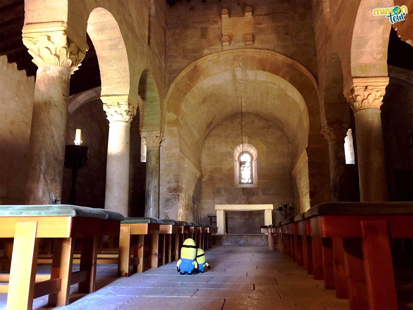 La iglesia visigoda de San Juan de Baños