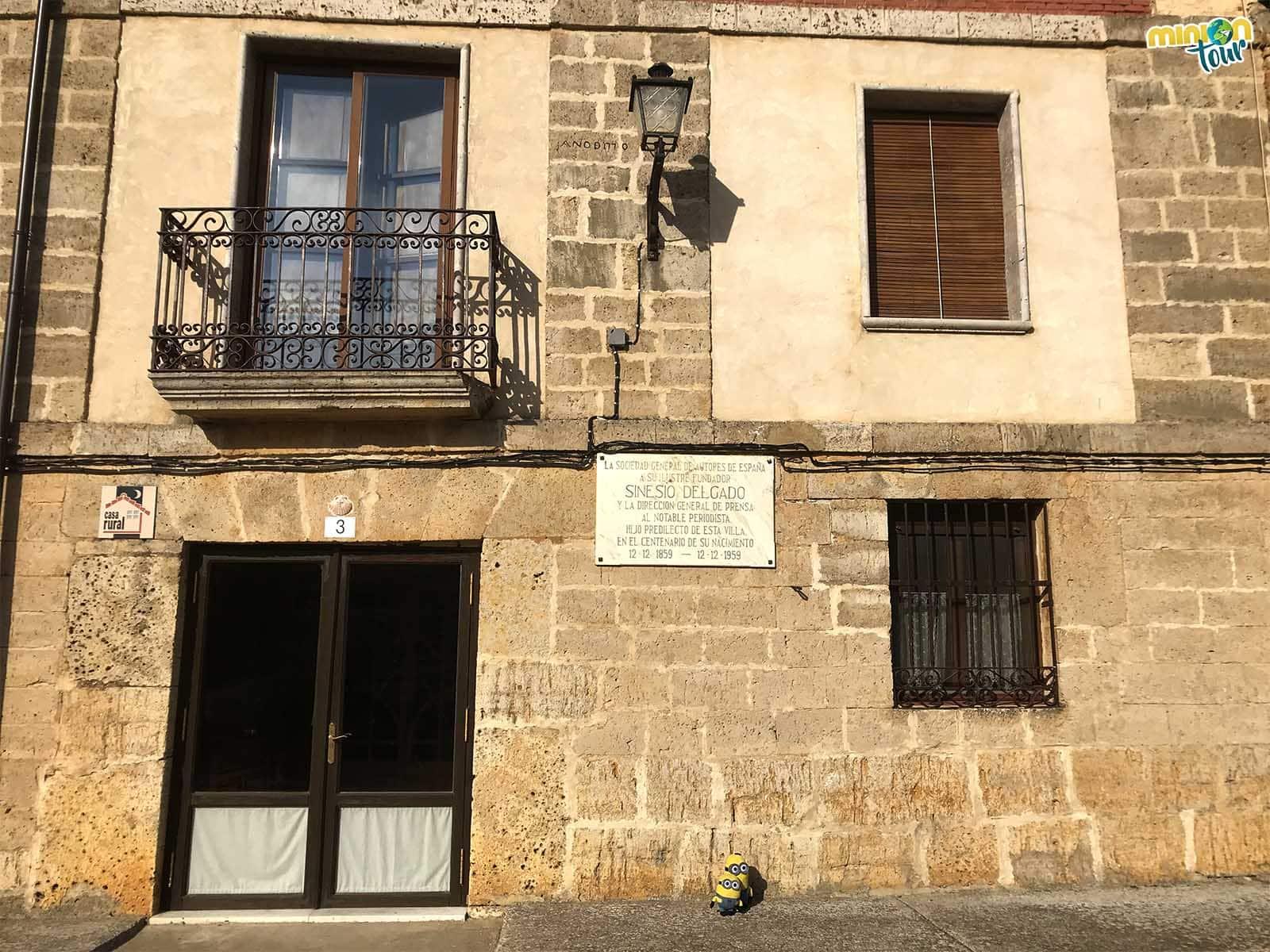 Casa natal de Sinesio Delgado