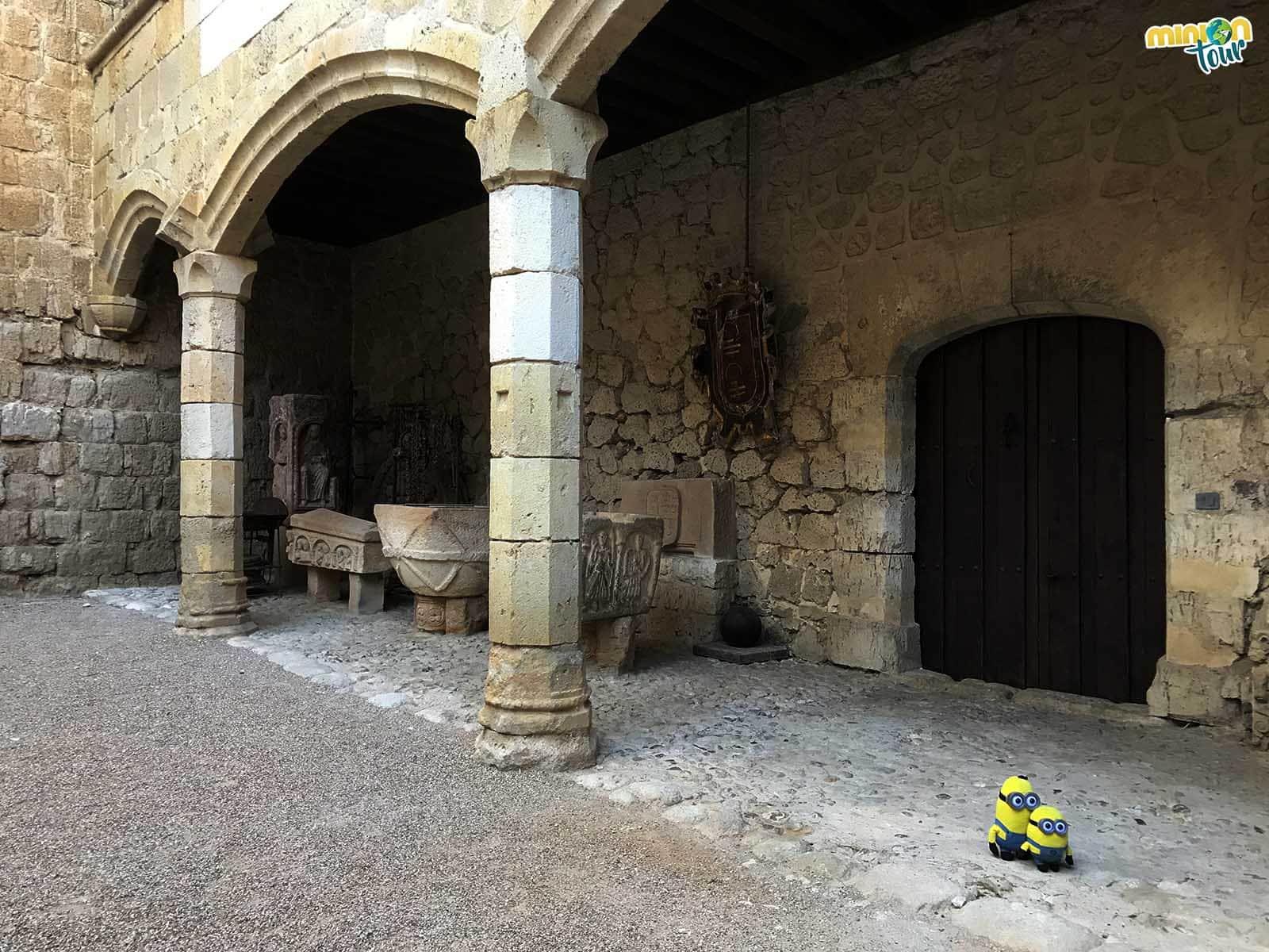 Más rincones del Castillo de Ampudia
