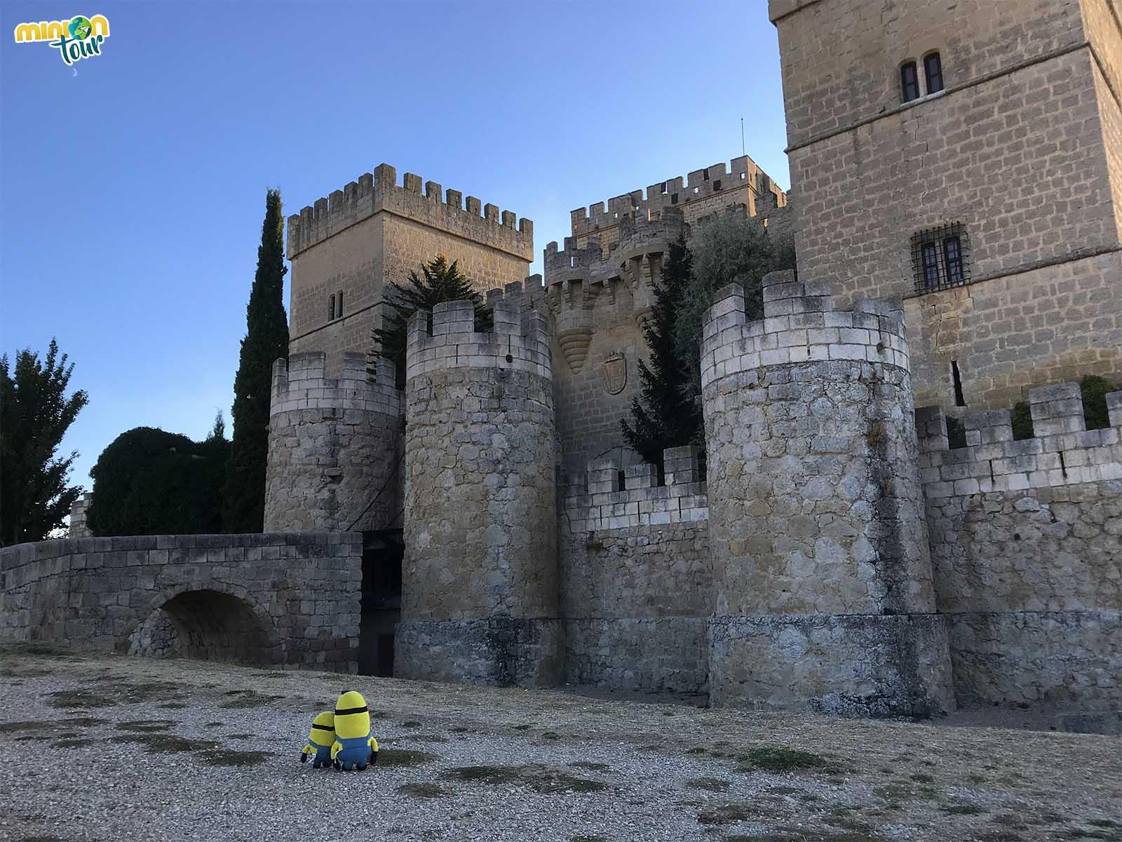 El impresionante Castillo de Ampudia