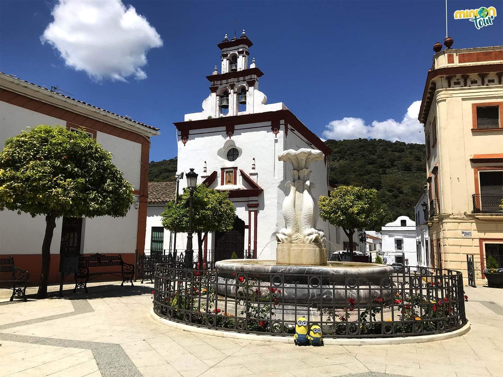 Otra de los lugares que tienes que ver en Almonaster la Real es la Capilla de la Santísima Trinidad