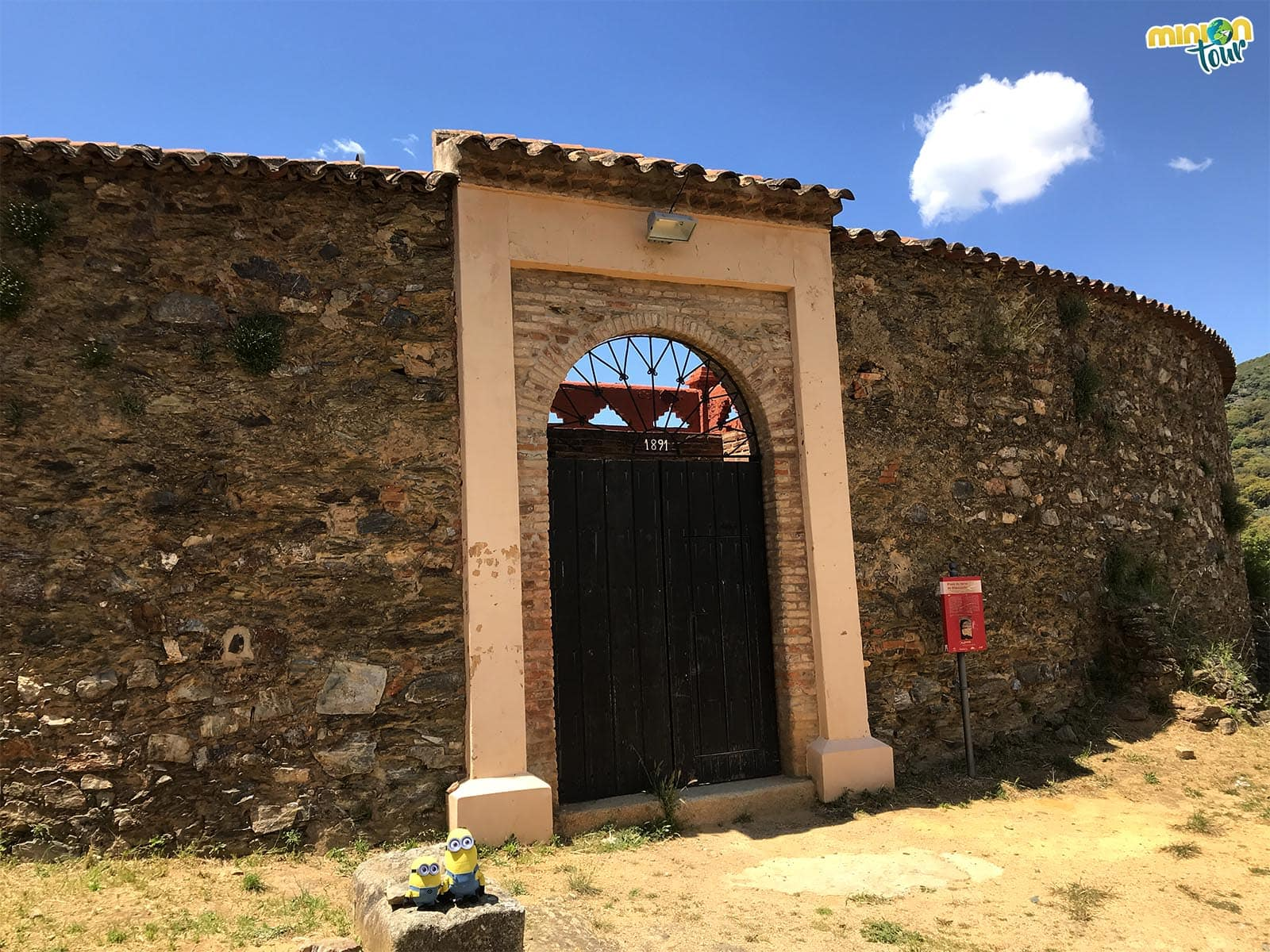 Plaza de toros de Almonaster la Real