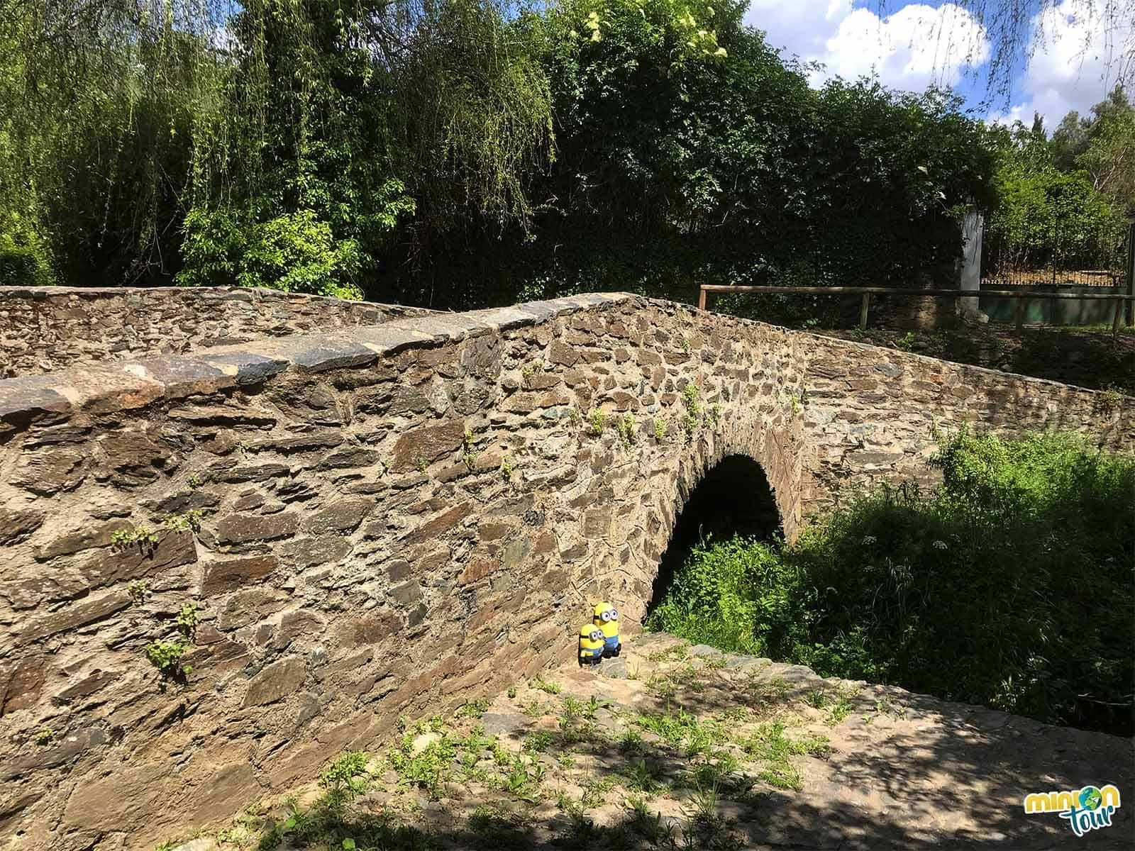 El puente romano de Almonaster la Real
