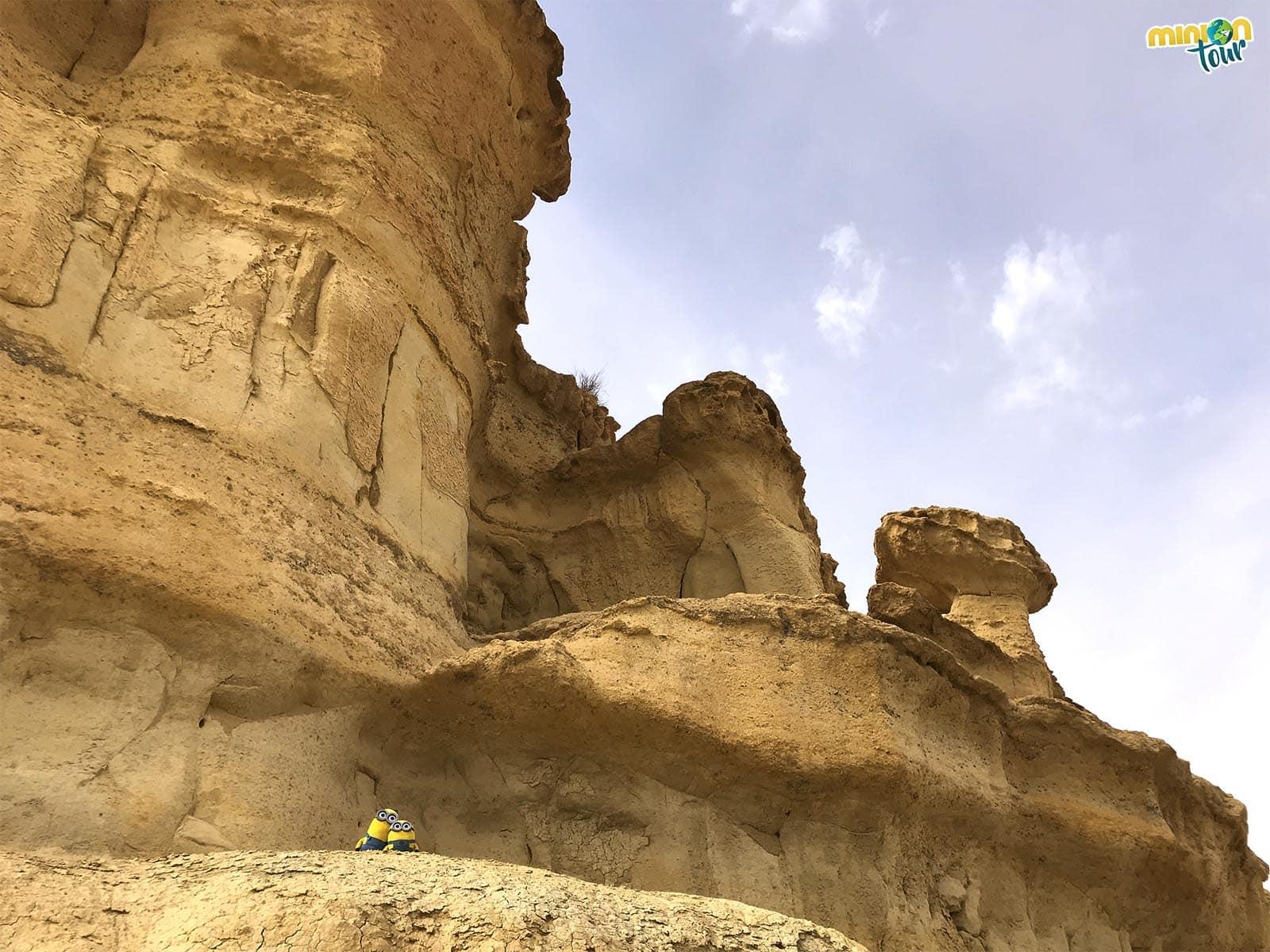 Investigando las erosiones de Bolnuevo