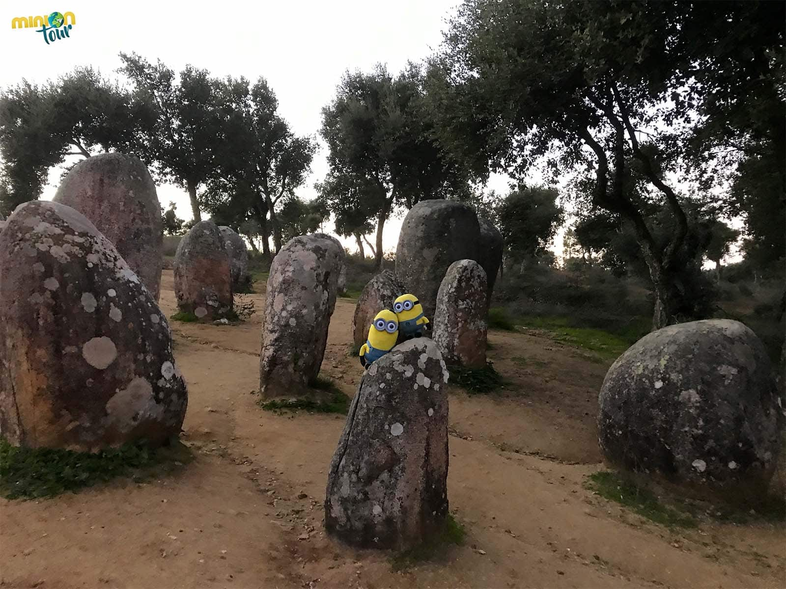 Crómlech de los Almendros en Évora