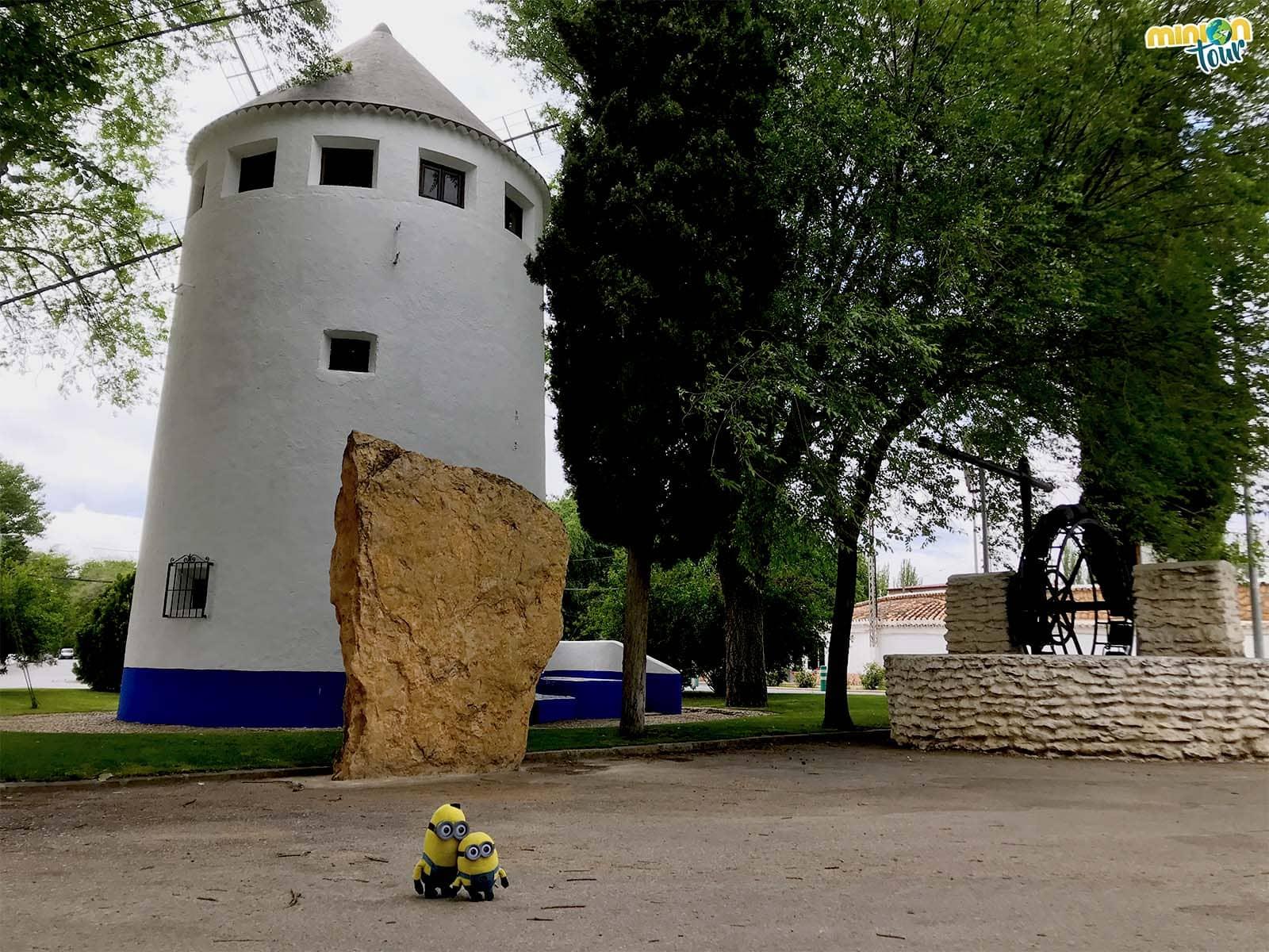 En Argamasilla de Alba también hay un molino