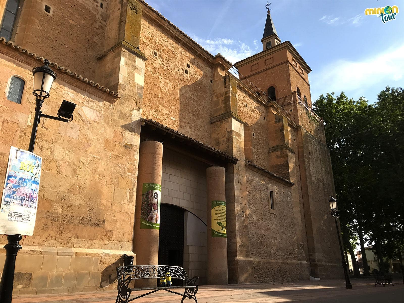 La Iglesia de San Juan Bautista en Argamasilla de Alba