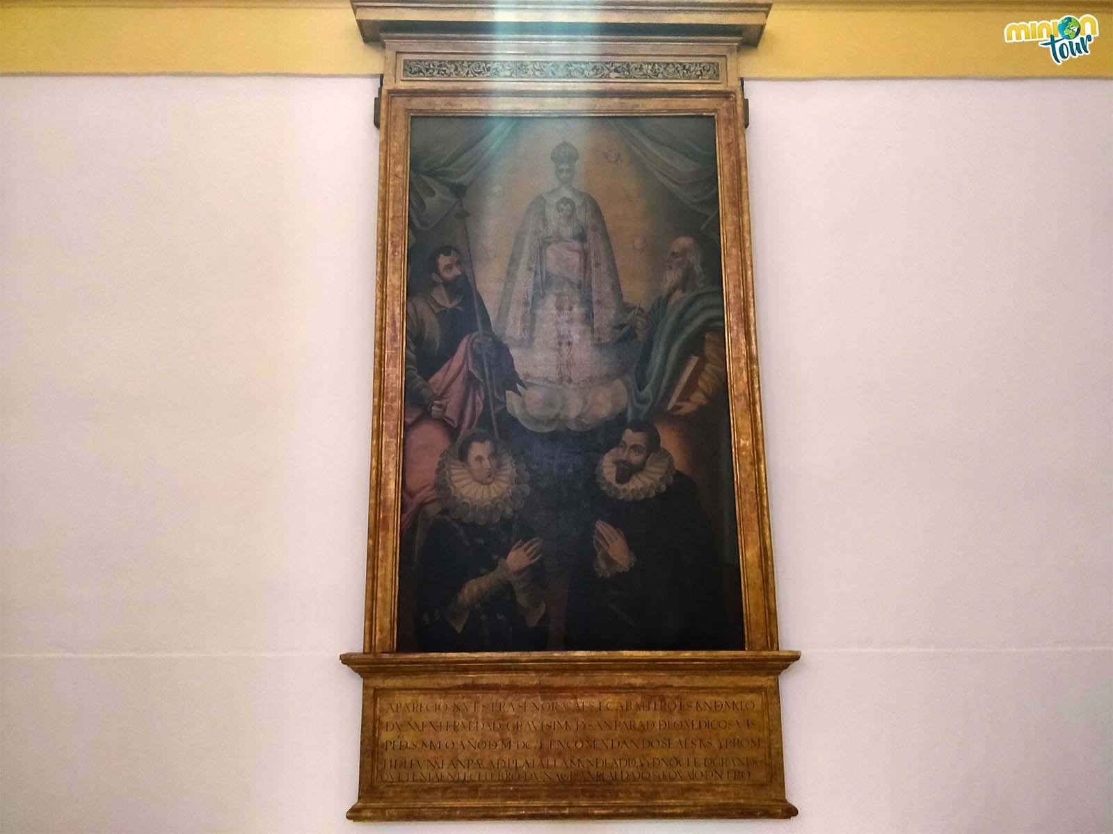 Exvoto en Argamasilla de Alba