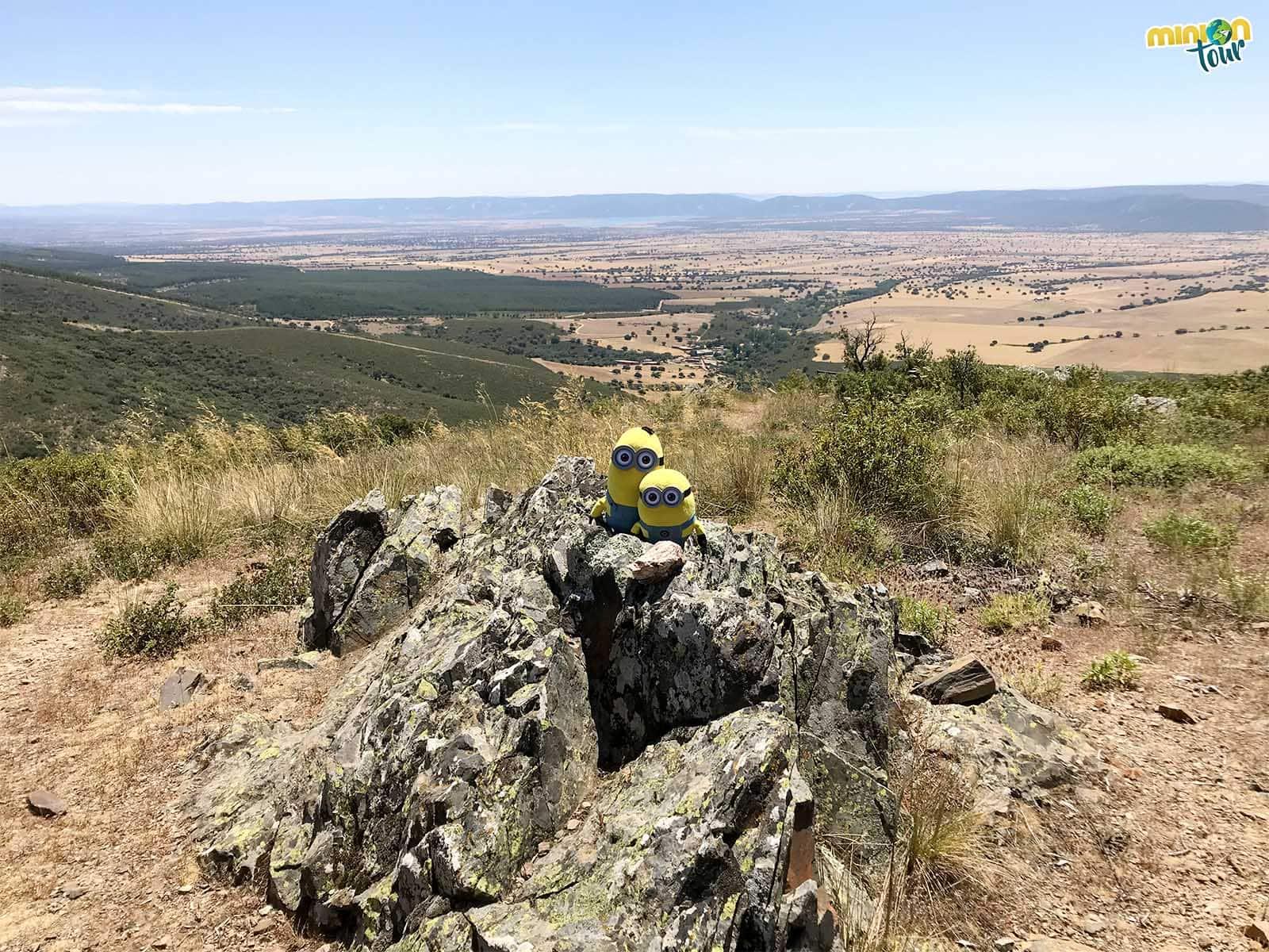 Mirador paisajístico cerca de San Pablo de los Montes