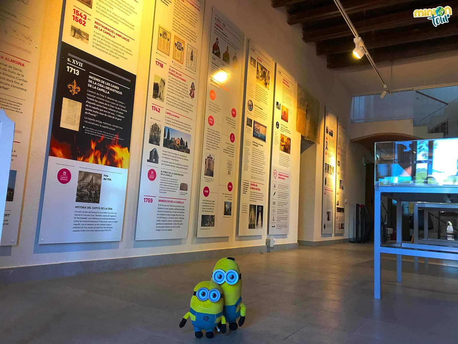 Sala con información sobre la Cisa
