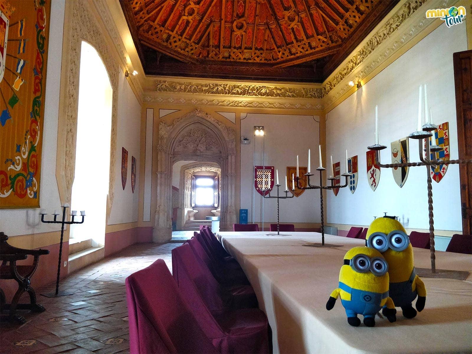 Salón de Gobierno del Castillo de Belmonte
