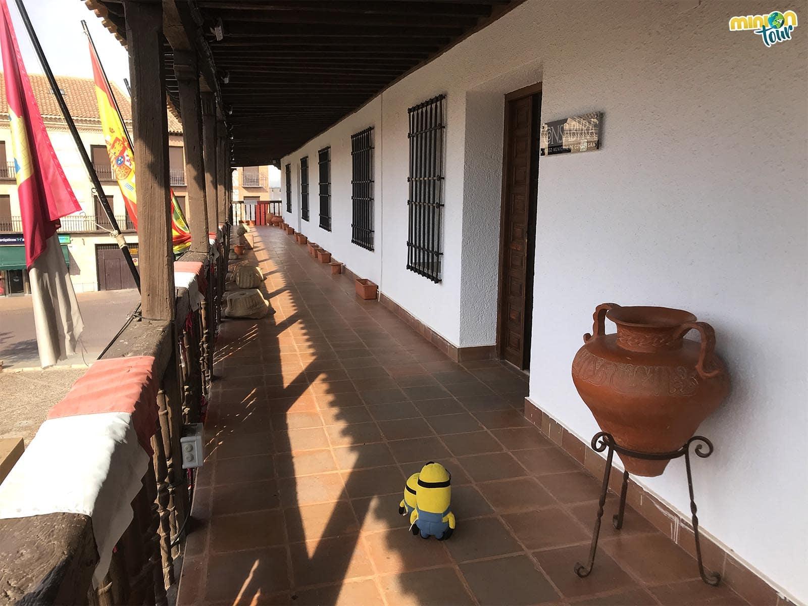 Entrada del Museo Arqueológico Municipal